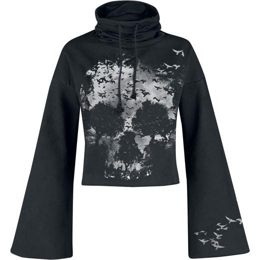 60% ZNIŻKI Bluza damska LIKE FOR Time Fashion czarny Odzież