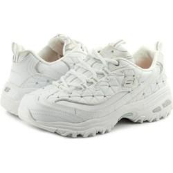 74cfdb33e042b Skechers sneakersy damskie sznurowane młodzieżowe na platformie ze skóry