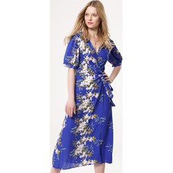 8d6c59d92f Sukienka Born2be midi z długimi rękawami