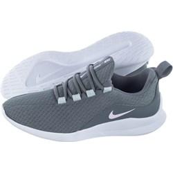 new concept d6b7c 05c19 Buty sportowe damskie Nike z tworzywa sztucznego sznurowane niebieskie  płaskie bez wzorów