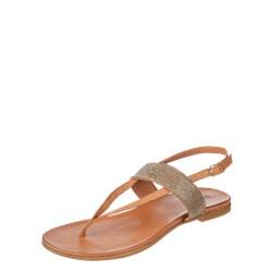 f4322c19ff19b Inuovo sandały damskie płaskie casualowe skórzane