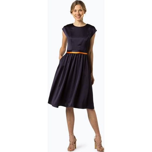 7c335961d5072 HUGO - Sukienka damska – Kihena-1, niebieski Hugo Boss 40 vangraaf