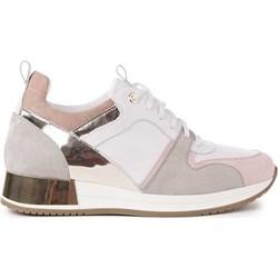 86ddafaeb8188 Sneakersy damskie Saway letnie płaskie bez wzorów sportowe
