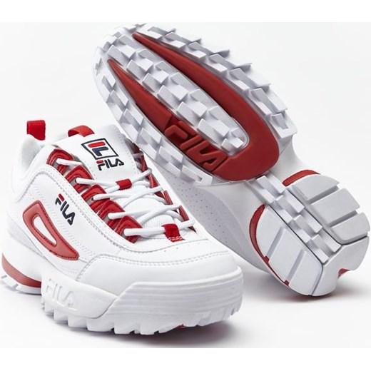 4f5ea003 Fila sneakersy damskie na platformie wiązane bez wzorów sportowe