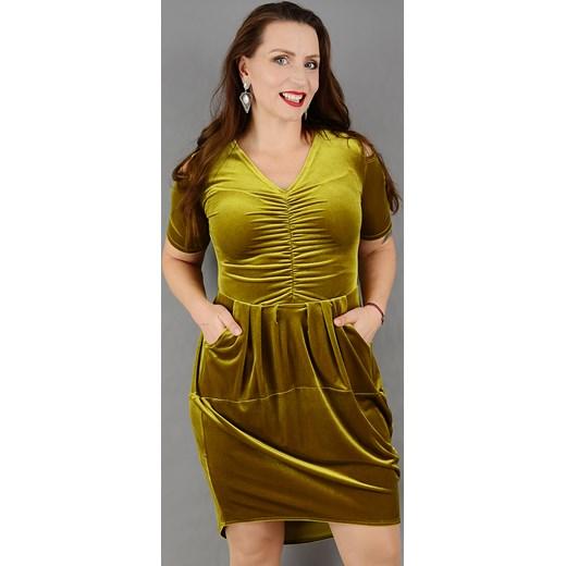 5ba56d3d401 Sukienka Stabo mini z elastanu w Domodi