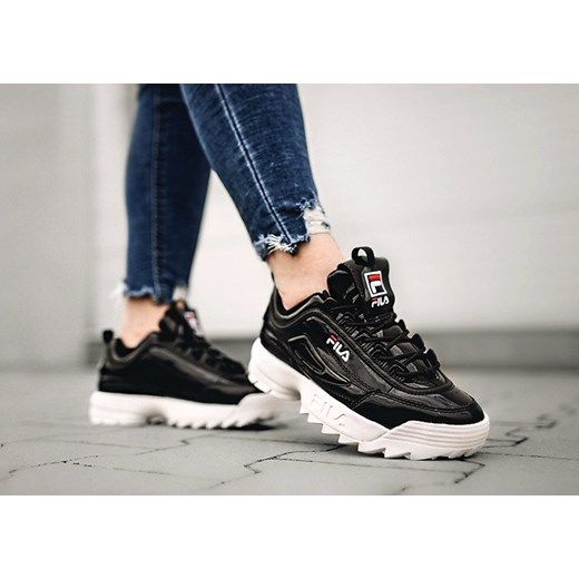 dobry Sneakersy damskie Fila sportowe na platformie Buty