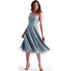 b832ae57d4 Sukienka niebieska Potis   Verso bez rękawów na ...