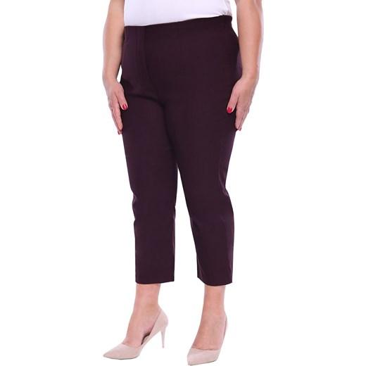 Spodnie damskie czarne casual na wiosnę