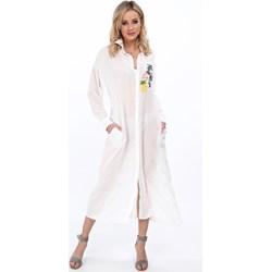 4196522668 Sukienka Fasardi z długimi rękawami maxi