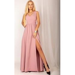 d2c05e0ba0 Sukienka maxi z elastanu