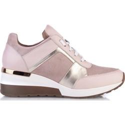 c4283db9 Sneakersy damskie Arturo Vicci na koturnie ze skóry bez wzorów