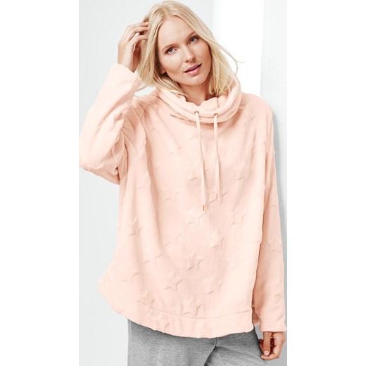8cdef8d06c Różowa bluza damska Tchibo krótka w Domodi
