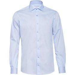 972dd24a303eb8 Koszula męska Veva elegancka bez wzorów z włoskim kołnierzykiem z długimi  rękawami