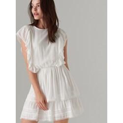 afcf62ea5c Sukienka Mohito mini biała