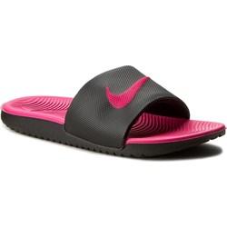 17f692cd72c10 Klapki damskie Nike bez wzorów z tworzywa sztucznego bez zapięcia na  płaskiej podeszwie ...