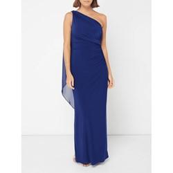 8e4ab68ee1 Sukienka Lauren Ralph balowe bez rękawów szyfonowa