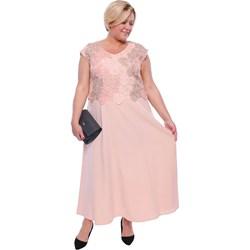 3eabb43682 Modne Duże Rozmiary. Sukienka z wiskozy na wesele
