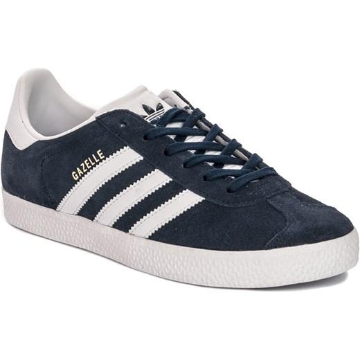 Sneakersy Adidas Gazelle J BY9144 Granatowo Białe okazja midiamo.pl