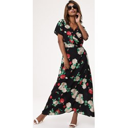 f240921422 Sukienka Born2be kopertowa