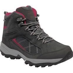 d9c020be753b2 Buty trekkingowe damskie Regatta skórzane bez wzorów płaskie sznurowane  sportowe