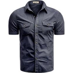 e97dba8063646 Niebieskie koszule męskie, lato 2019 w Domodi