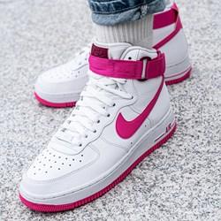 4cf16749 Buty sportowe damskie Nike do biegania air force bez wzorów płaskie na  wiosnę wiązane