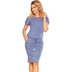 6999bf97 Sukienka Numoco z krótkim rękawem biznesowa casual