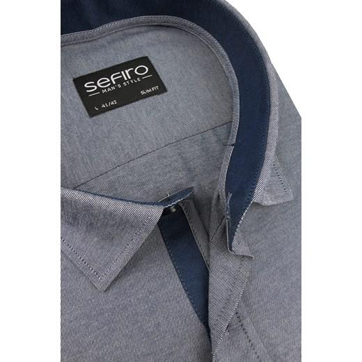 dobra jakość Koszula Sefiro z tkaniny w stylu casual z