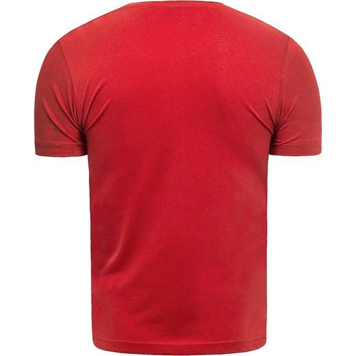 T shirt męski Risardi młodzieżowy letni z krótkim rękawem