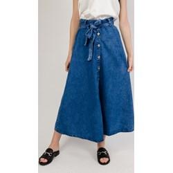 147071cc365fb2 Spódnice jeansowe, lato 2019 w Domodi