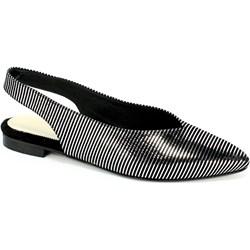 034ee1522bc2e Alexio Giorgio sandały damskie czarne skórzane na lato płaskie casual na  płaskiej podeszwie