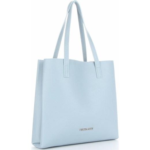 219a8569123a1c Shopper bag Vittoria Gotti duża skórzana matowa elegancka w Domodi