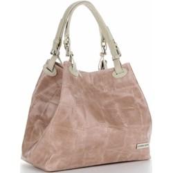 1cb6e36f50804 Brązowa torebka Vittoria Gotti elegancka średniej wielkości