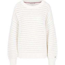 c74ef05f0 Białe swetry damskie tommy hilfiger, lato 2019 w Domodi
