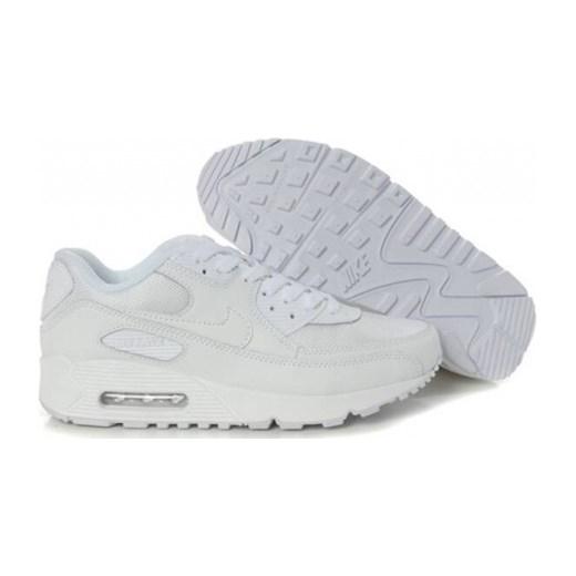 8a08efbf Buty sportowe męskie Nike air max 91 białe ze skóry w Domodi