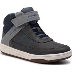 eee26ac9 Buty sportowe dziecięce Geox czarne na wiosnę z tworzywa sztucznego