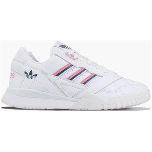 Buty sportowe damskie Adidas Originals białe sznurowane płaskie