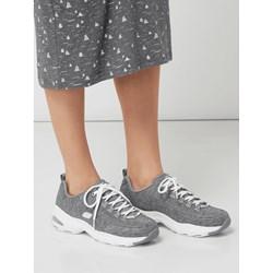 290534011fbd9 Buty sportowe damskie Skechers sneakersy młodzieżowe z tkaniny
