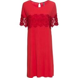 9c60e74c Sukienka Bonprix z okrągłym dekoltem