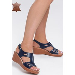 9810d8492a185 Granatowe buty damskie, lato 2019 w Domodi