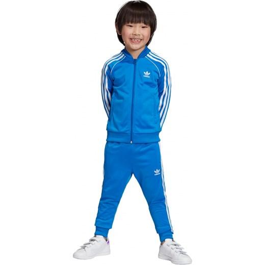 ekonomiczny Dres chłopięcy Adidas Originals w paski Odzież