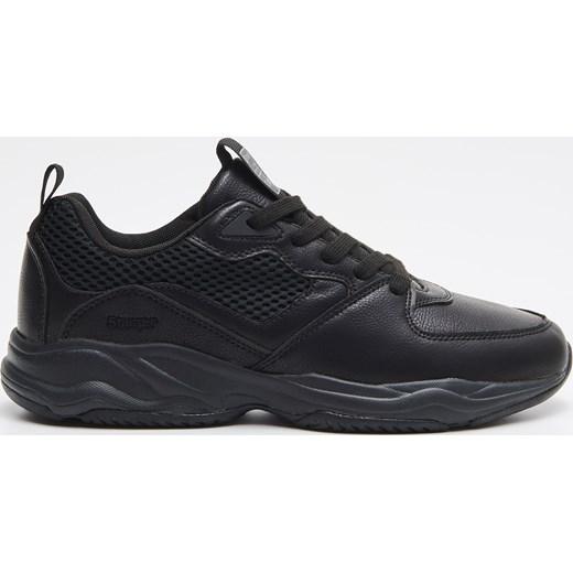 nowy Buty sportowe męskie czarne Cropp wiązane jesienne Buty