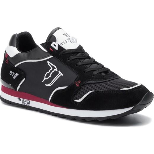 2d5d6642 Sneakersy TRUSSARDI JEANS - 77A00188 K605 Trussardi Jeans 41 eobuwie.pl