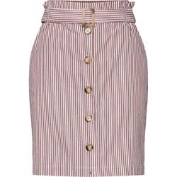 55f02d8f1d36f7 Spódnica Minimum bawełniana mini w paski