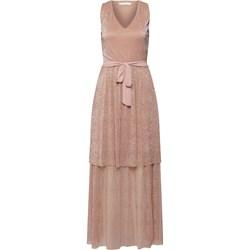 e45b943f Sukienka różowa Vila wiosenna na bal bez rękawów