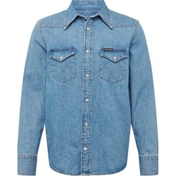 aa689a9a752072 Koszula męska Calvin Klein z klasycznym kołnierzykiem