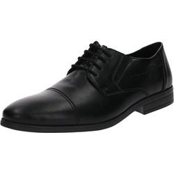 af318c42 Buty eleganckie męskie czarne Rieker sznurowane skórzane
