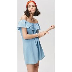 cd0ce1e8 Sukienka Monnari na co dzień casualowa z dekoltem typu hiszpanka