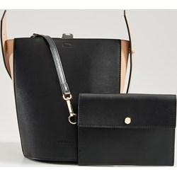 6ee8e21cffe240 Shopper bag Mohito mieszcząca a8 bez dodatków matowa elegancka