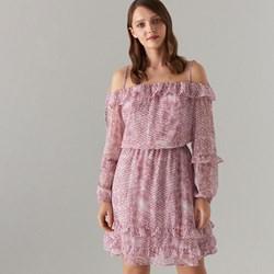 5152bbe5 Sukienka różowa Mohito mini na spacer